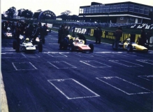 Brands Hatch Front Row 6th Oct 1971